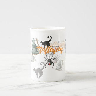 Mug Tombe d'araignée de Halloween