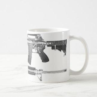 Mug Tomodensitométrie AR-15/IMAGE DÉTAILLÉE de RAYON X