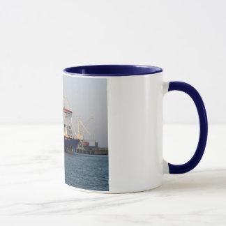 Mug Tondeuse de commodore en port de St Peter,