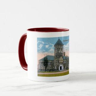 Mug Toronto, Canada, bibliothèque universitaire, cru