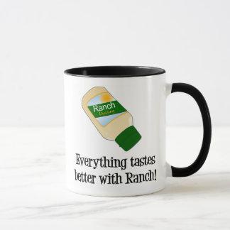 Mug Tout goûte meilleur avec le ranch