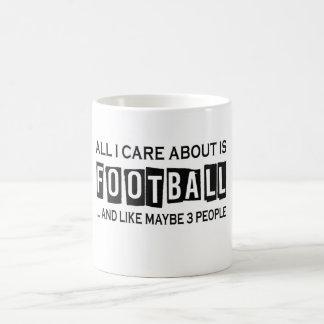Mug Tout soin d'I est environ le football