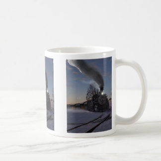 Mug Train de réveillon de Noël
