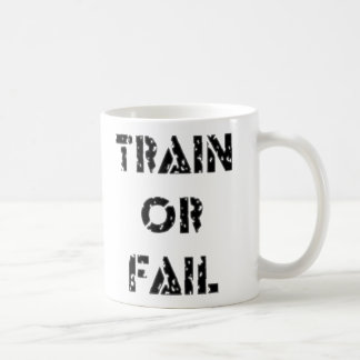 Mug Train ou échouer