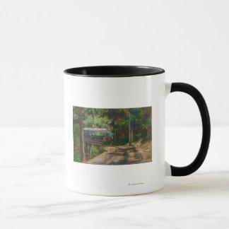 Mug Train par CanyonMt en bois. Lowe, CA