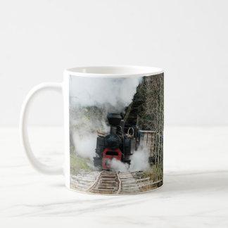 Mug Trains de vapeur de la Roumanie