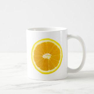 Mug tranche orange