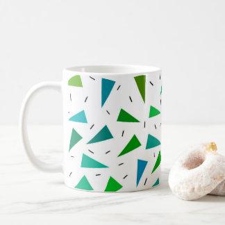 Mug Triangle géométrique, motif moderne