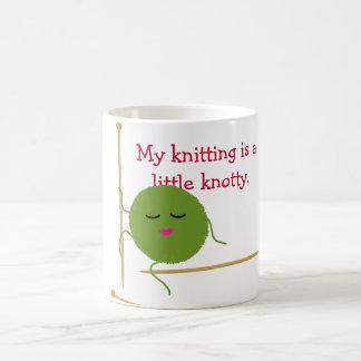 Mug Tricoteuse inextricable drôle