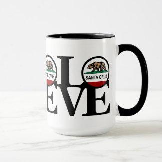 Mug TRIPLE PLAY soutenu, à la maison et amour Santa