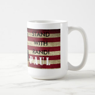 MUG TRONÇONS DE RON PAUL POUR LE SUPPORT DE PAUL DE