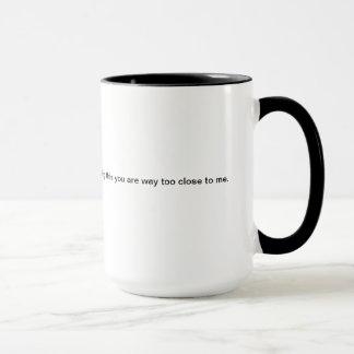 Mug Trop étroitement