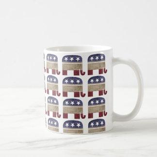 Mug Troupeau de républicain de GOP d'éléphants
