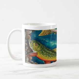 Mug Truite de ruisseau et truite arc-en-ciel