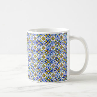 Mug Tuiles sans couture de panneau d'Azulejo