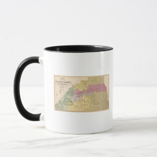 Mug Tulare County, la Californie