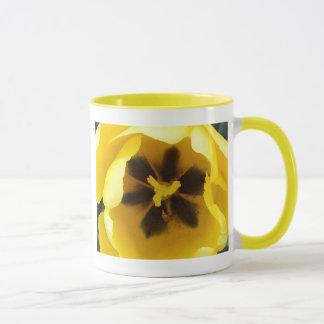 Mug Tulipe jaune lumineuse