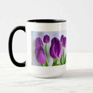 Mug Tulipe pourpre