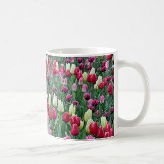 Mug Tulipes colorées de ressort