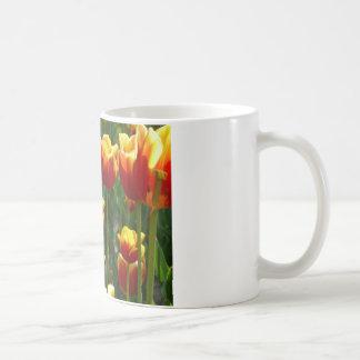 Mug tulipes d'or