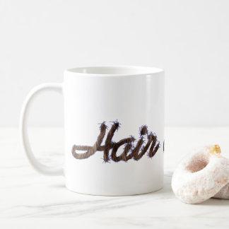 Mug Typographie réaliste drôle de cheveux de coiffeur