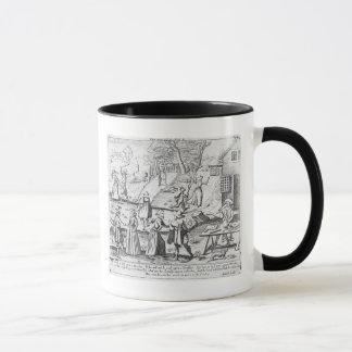 Mug Un cadeau de nouvelle année pour des musaraignes