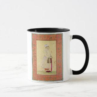 Mug Un jeune noble de la cour de Mughal, du Lar