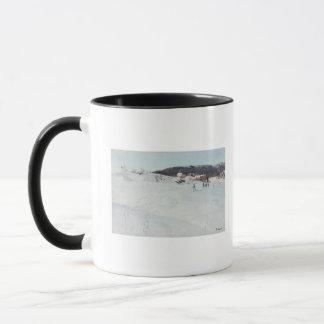 Mug Un jour d'hiver en Norvège, 1886
