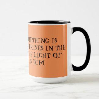 Mug Une citation au sujet de lever de soleil