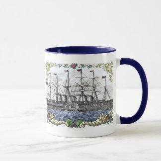 Mug Une corne d'abondance de bateau