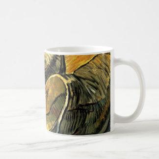 Mug Une paire d'entraves de cuir par Vincent van Gogh