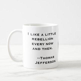 Mug Une petite rébellion