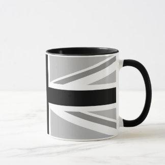 Mug Union Jack/monochrome de drapeau