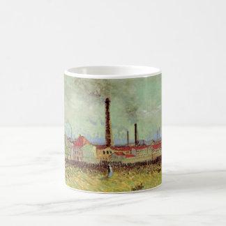 Mug Usines de Van Gogh chez Asnieres, beaux-arts