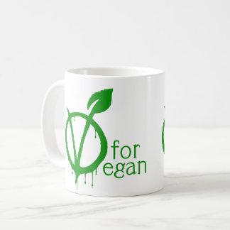 Mug V pour le végétalien