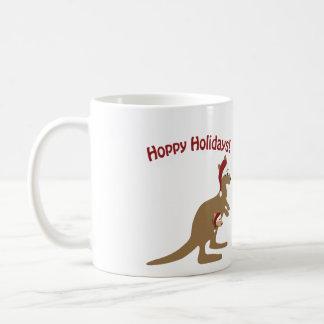 Mug Vacances de houblon ! kangourou de Noël