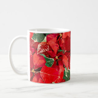 Mug Vacances rouges de poinsettia