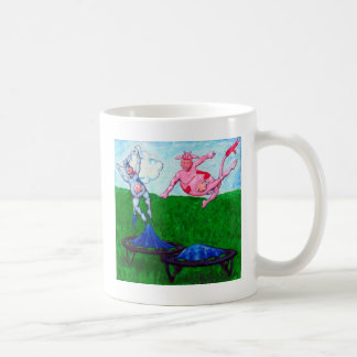 Mug Vaches à trempoline