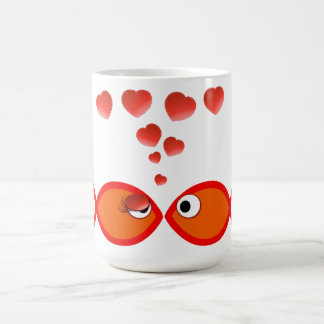 Mug Valentine chrétien v2 orange