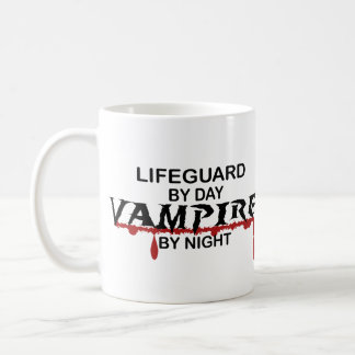 Mug Vampire de maître nageur par nuit
