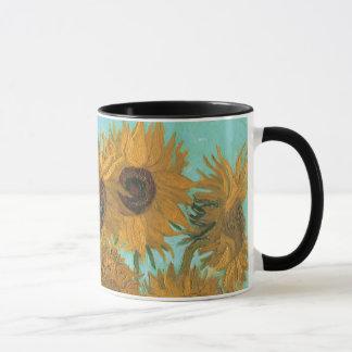 Mug Vase avec douze tournesols par Vincent van Gogh
