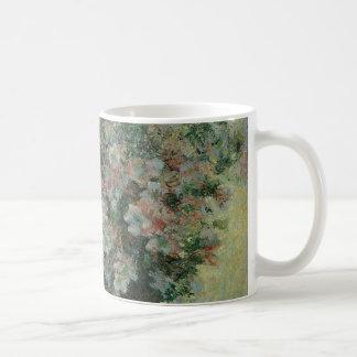Mug Vase de fleurs par Claude Monet, beaux-arts