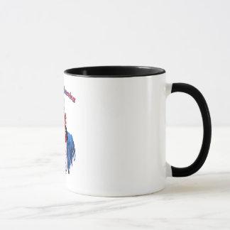 Mug Vecteur - Dieu bénissent l'Amérique