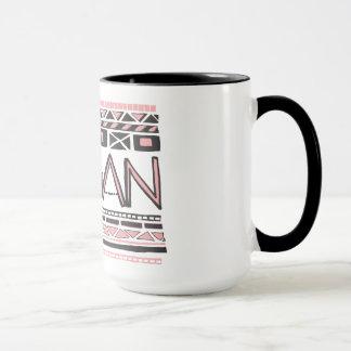 Mug Végétalien/copie tribale