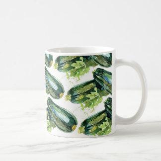 Mug Végétarien de légume de courgette de légumes de
