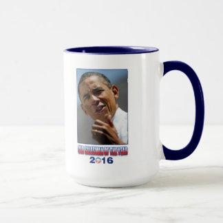 Mug Vendeur de voiture de Barack Obama de l'année 2016