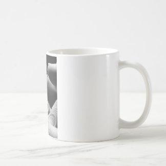 Mug verres de contact et oeil
