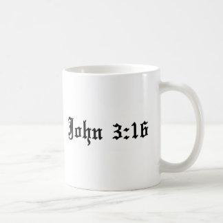 Mug vers chrétien de bible de 3h16 de John