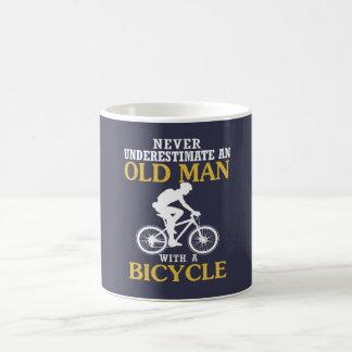 Mug Vieil homme de bicyclette