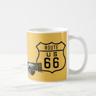 Mug Vieil or américain de camion de l'itinéraire 66